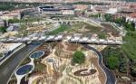 Девелоперский проект: парковая зона вместо промзоны в Мадриде